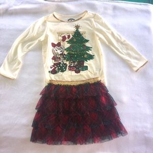 Little girls Christmas outfit